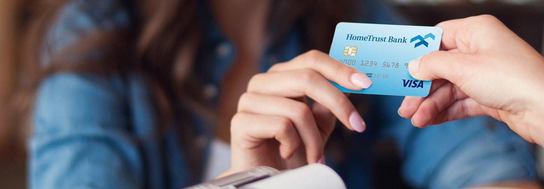 Using your HomeTrust Bank Debit Card.