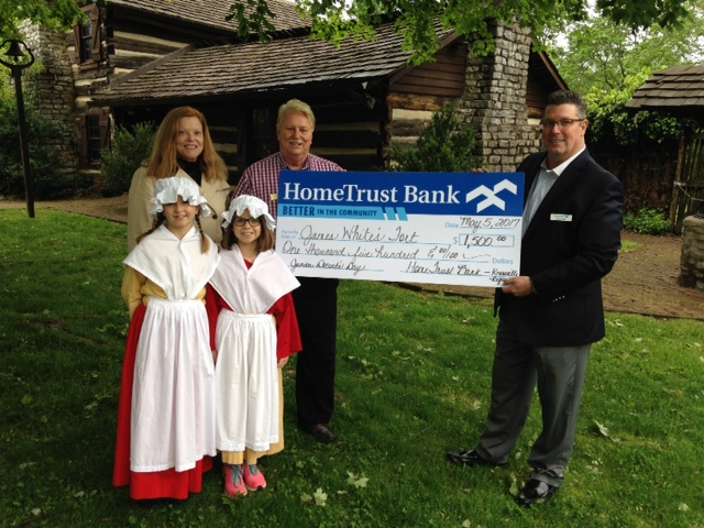 Check presentation at James White's Fort