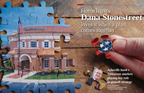 Cover page from TN Banker Magazine