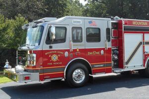 Fire truck, or fire service.