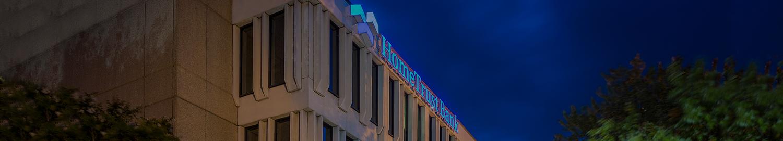 HomeTrust Bank Headquarters night