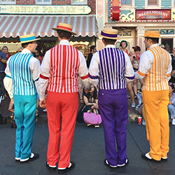 Barbershop Quartet Performing