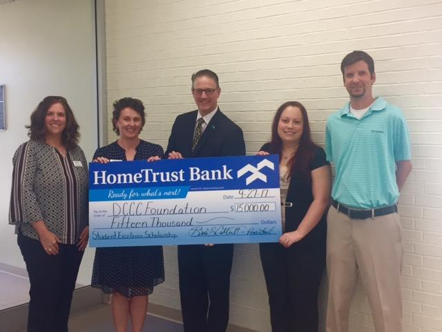 HTB Endows Scholarship at Davidson County Community College